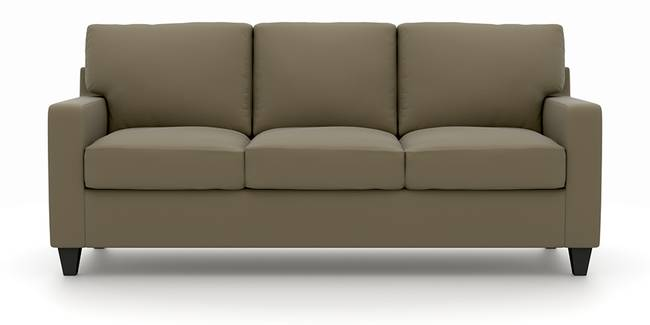 Walton Leatherette Sofa (Cappuccino) (Cappuccino, Leatherette Sofa Material, Regular Sofa Size, Regular Sofa Type)