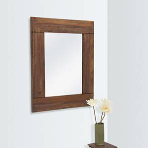 Venus Wall Mirror (Teak Finish) by Urban Ladder - - 106852