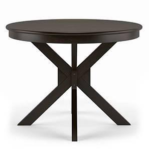 Liana 4 seater round dining table mahagony replace lp