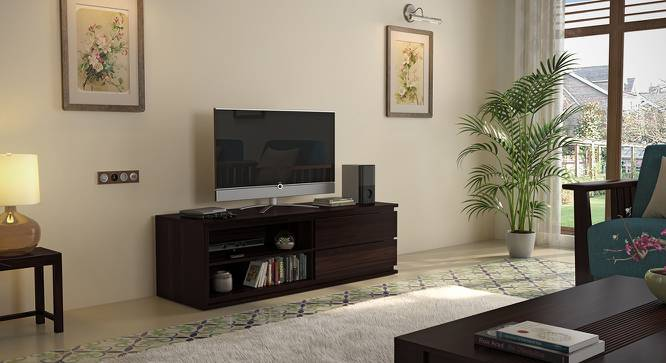 Vector TV Unit (Mahogany Finish) by Urban Ladder - Full View Design 1 Cover Image - 115492