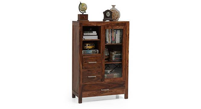 Carnegie Cabinet (Teak Finish) by Urban Ladder - Half View Design 1 - 115509