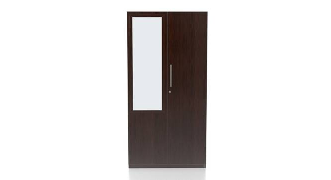 Domenico Wardrobe (Two Door, Yes Mirror, Without Drawer Configuration) by Urban Ladder - - 116313