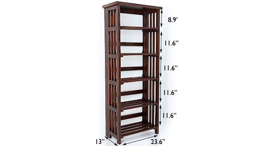 Rhodes folding book shelf mahogany finish img 6899 as smart object 1 ed