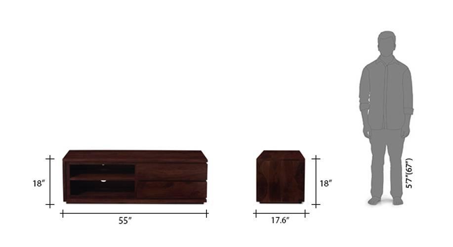 Vector tv unit mahogany 12 13