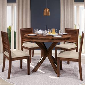 Liana oribi 4 seater round dining table set tk 00 lp