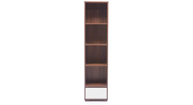 Iwaki Bookshelf (Dark Walnut Finish, 1 Drawer Configuration) by Urban Ladder