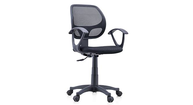 Eisner Study Chair (Black) by Urban Ladder
