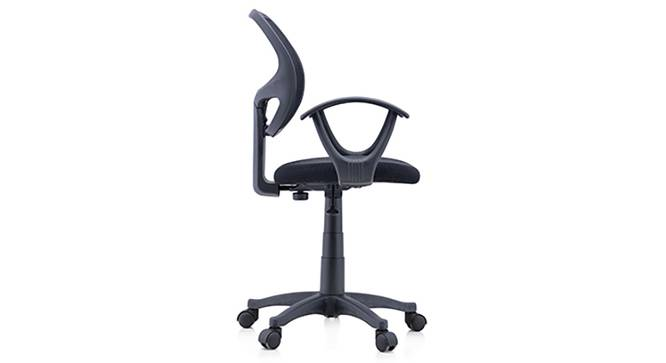 Eisner Study Chair (Black) by Urban Ladder - Side View Design 1 - 119573