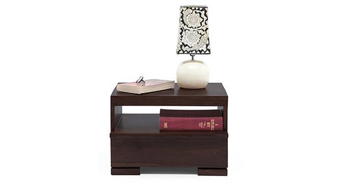 Ohio Bedside Table (Mahogany Finish) by Urban Ladder