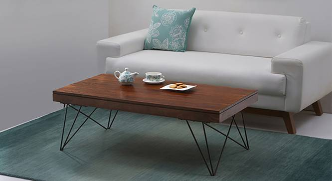 Dyson Coffee Table (Walnut Finish) by Urban Ladder