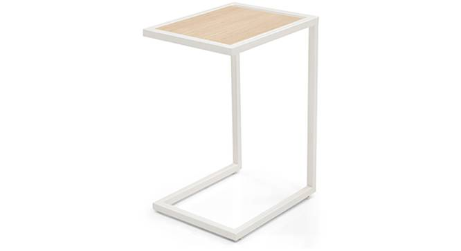 Cel Laptop Table (White) by Urban Ladder - Front View Design 1 - 120311