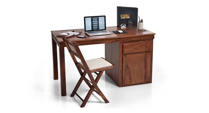 Bradbury Desk (Teak Finish, Large Size) by Urban Ladder