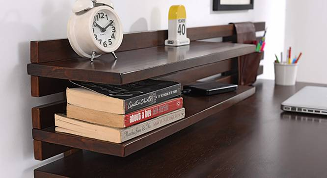 Fonteyn Study Table (Dark Walnut Finish) by Urban Ladder