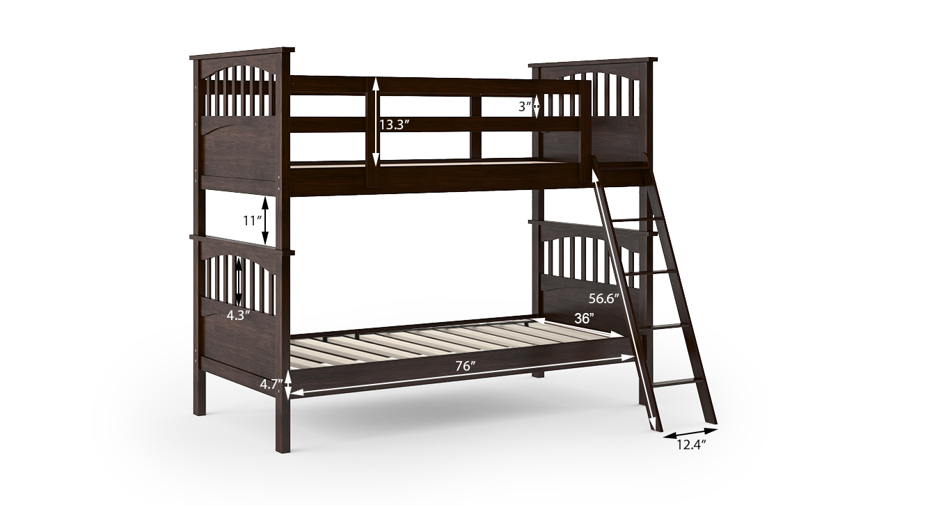 Barnley bunk bed without storage replace 6