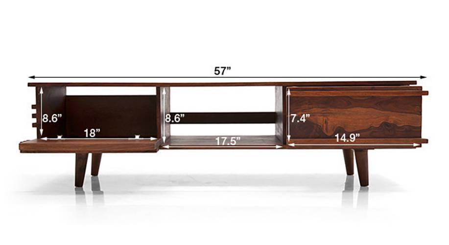 Parker tv unit teak finish 08 2