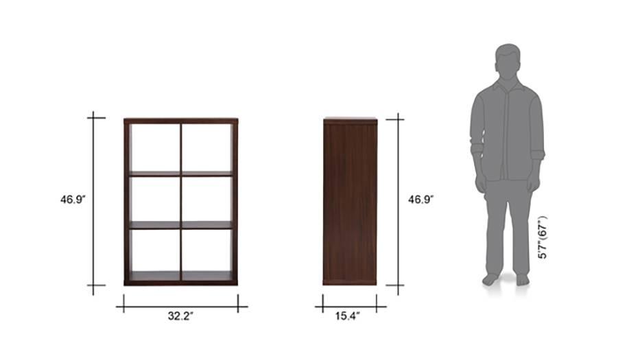 Boeberg bookshelf 3x2 dw 07 8