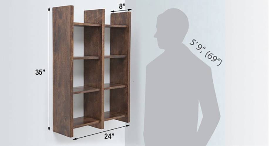 Tic tac wall rack walnut finish img 5338 d 2  1 1