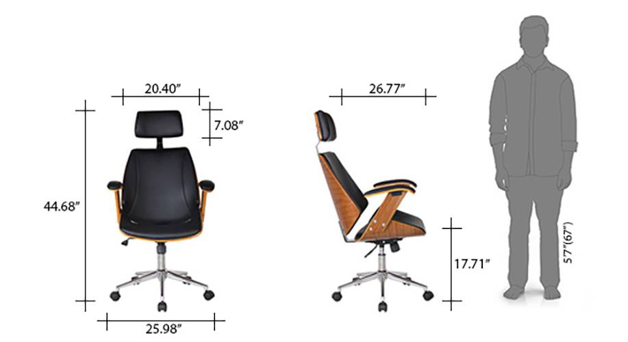 Ray executive study chair 09 10