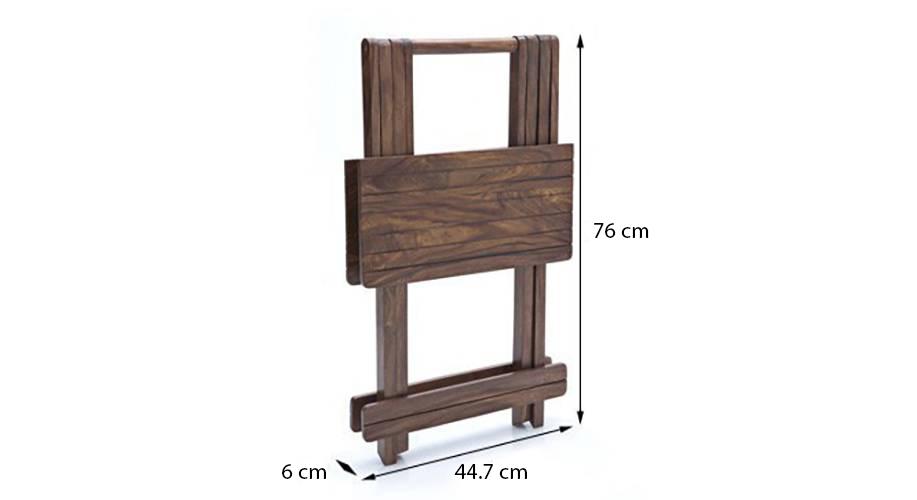 Latt folding table stool tall teak finish img 4772 dim1