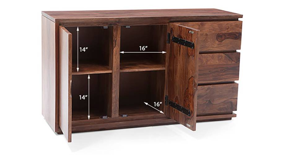 Vector xl sideboard teak 16 17