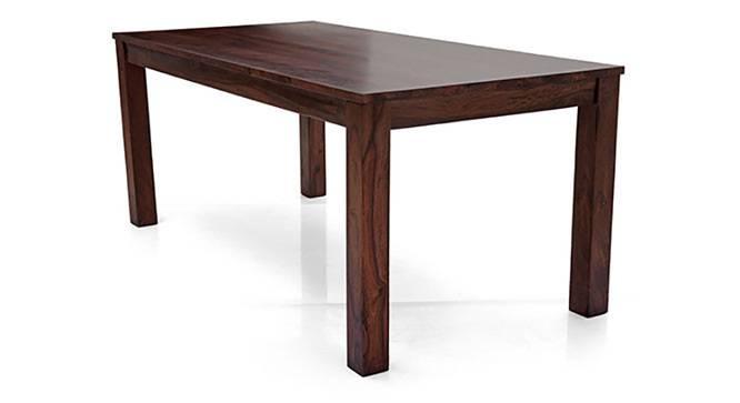 Arabia XL - Zella 8 Seater Dining Set (Mahogany Finish, Avocado Green) by Urban Ladder