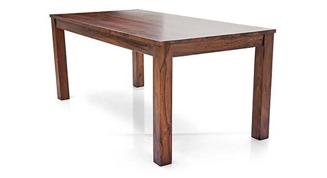 Arabia XL - Oribi 6 Seater Dining Set (Teak Finish, Wheat Brown) by Urban Ladder