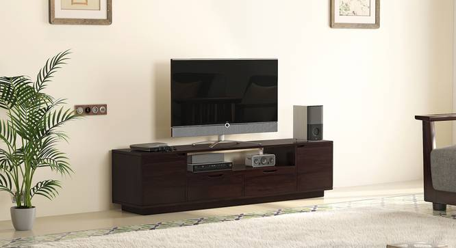 Zephyr Large TV Unit (Mahogany Finish) by Urban Ladder - Design 1 Full View - 125598