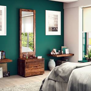 Zephyr Dresser With Mirror (Teak Finish) by Urban Ladder