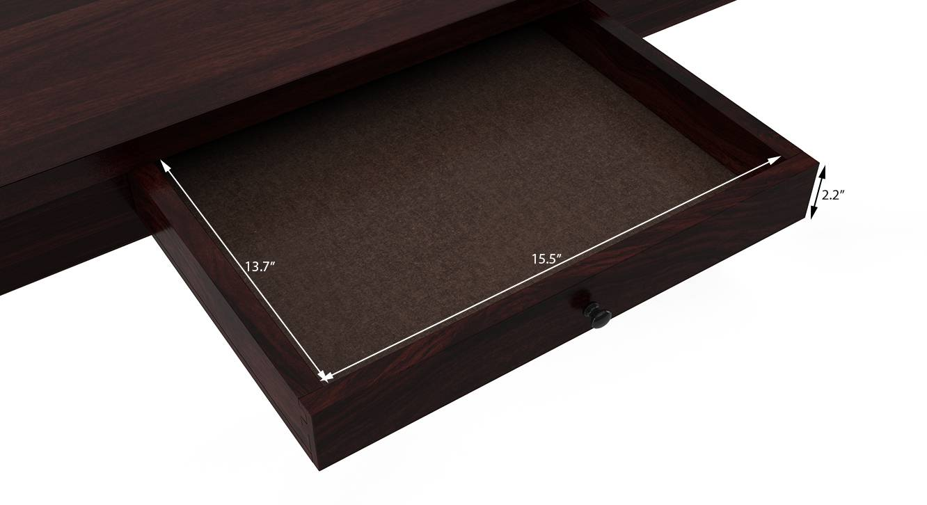 Arabia xl storage mahogany dimension