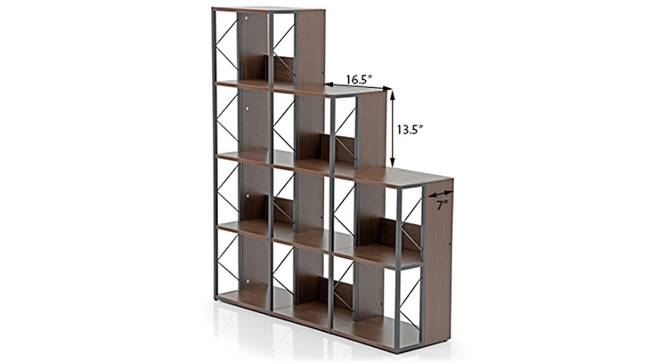 Delany Bookshelf/Display Unit (70-book capacity) (Wenge Finish) by Urban Ladder - Image 1 Design 1 - 126730