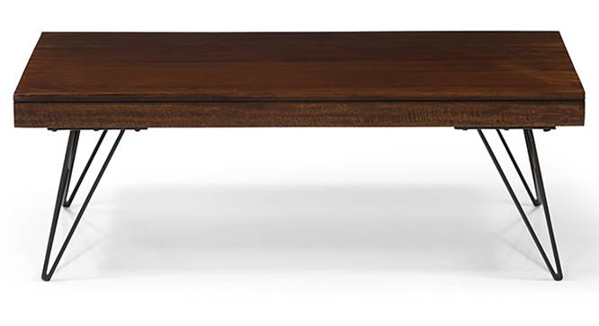 Dyson TV Unit - Coffee Table Set (Walnut Finish) by Urban Ladder