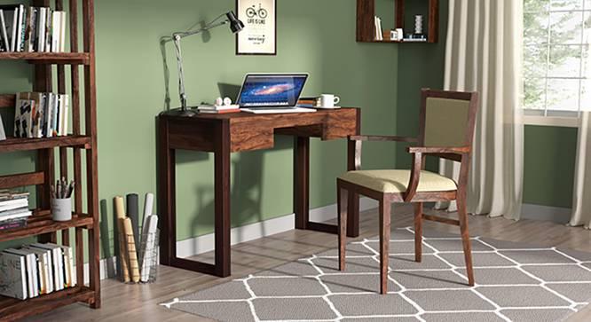 Austen Compact - Aurelio Study Sets (Two-Tone Finish, Sandstorm) by Urban Ladder - Full View Design 1 - 128784