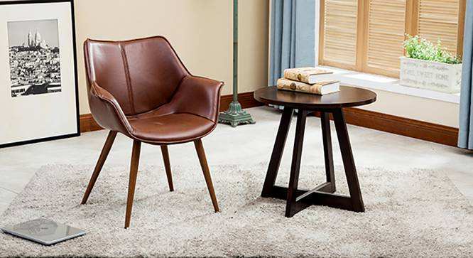 Keaton Lounge Chair (Brown) by Urban Ladder - Full View Design 1 - 128916