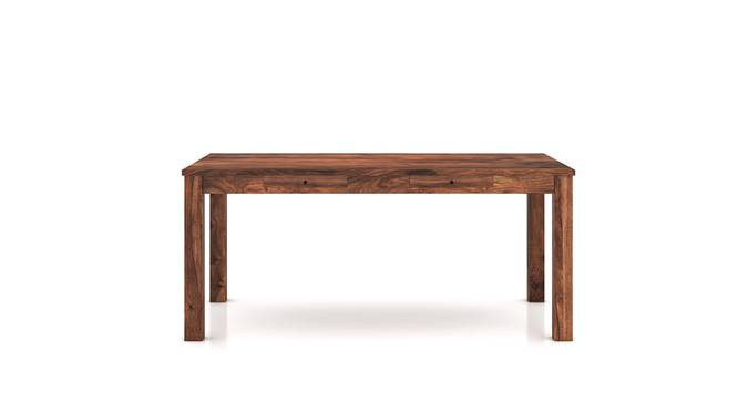 Arabia XL Storage Dining Table (Teak Finish) by Urban Ladder - Front View Design 1 - 129216
