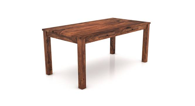 Arabia XL Storage Dining Table (Teak Finish) by Urban Ladder - Cross View Design 1 - 129217