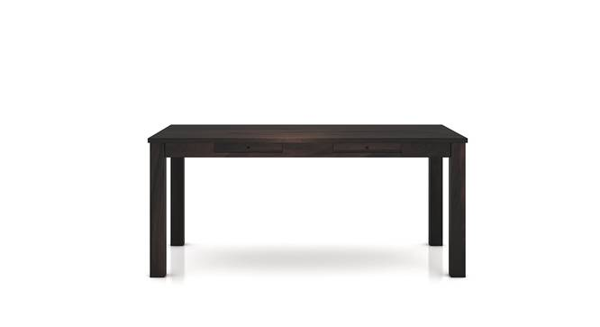 Arabia XL Storage Dining Table (Mahogany Finish) by Urban Ladder - Front View Design 1 - 129224