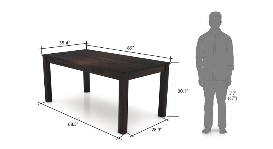 Arabia xl storage dining table mh