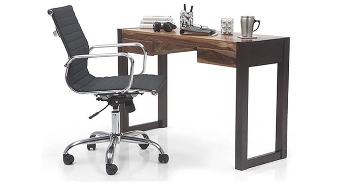 Austen - Charles Study Set (Two-Tone Finish, Black) by Urban Ladder