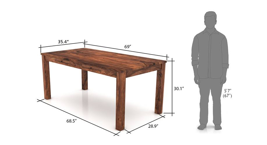 Arabia xl storage dining table tk