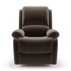 Tribbiani Recliner (Carafe Brown Fabric) by Urban Ladder