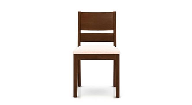 Cabalo Dining Chairs - Set of 2 (Beige, Dark Walnut Finish) by Urban Ladder