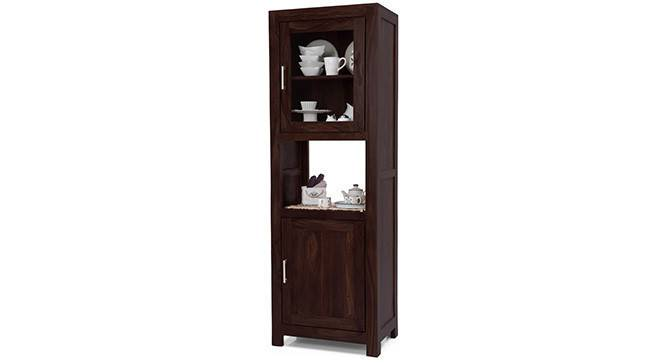 Murano Two-Door Display Cabinet (Mahogany Finish) by Urban Ladder