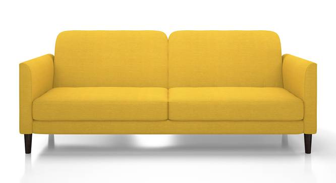 Felicity Sofa Cum Bed (Yellow) by Urban Ladder - Front View Design 1 - 134363