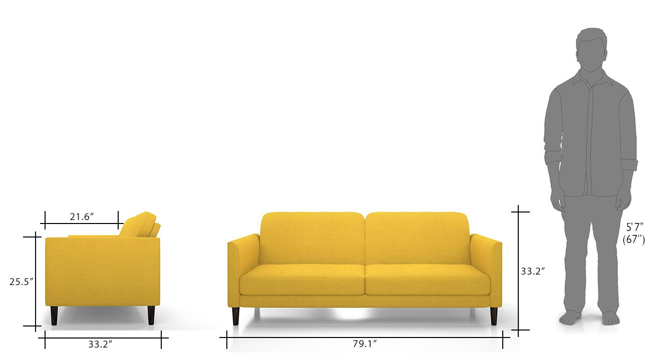 Felicity sofa cum bed yellow 10