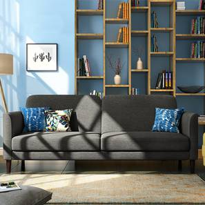 Felicity Sofa Cum Bed (Grey) by Urban Ladder - Full View Design 1 - 134409