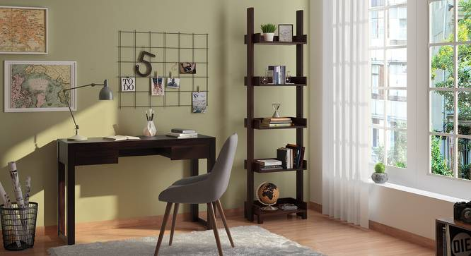 Austen Bookshelf/Display Unit (45-book capacity) (Mahogany Finish) by Urban Ladder - Design 1 Cover Image - 135173