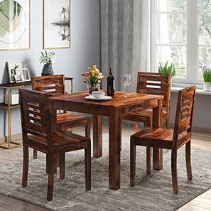 Arabia capra 4 seater storage dining table set mh 00 lp