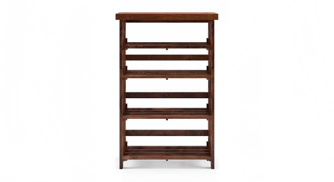 Rhodes Folding Book Shelf (Teak Finish, Wide Configuration) by Urban Ladder