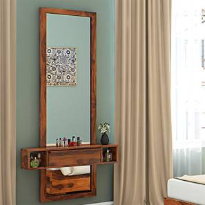 Ohio Mirror (Teak Finish) by Urban Ladder - Design 1 Full View - 136130