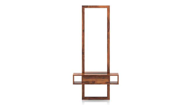 Ohio Mirror (Teak Finish) by Urban Ladder - Front View Design 1 - 136131